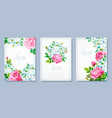 spring collection backgrounds vector image vector image