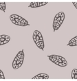 Vintage Feathers Seamless background vector image vector image