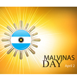 argentina malvinas day vector image vector image