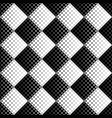 black and white abstract seamless star pattern vector image vector image