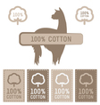 Cotton Set vector image