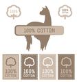 Cotton Set vector image vector image