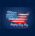 happy flag day 14th june vector image vector image