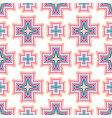 intricate crosses pattern tile background vector image