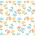 spring flowers background image vector image vector image