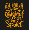 superior quality denim print and varsity t shirt vector image