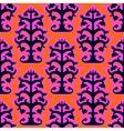 Suzani ethnic pattern with Uzbek motifs vector image vector image
