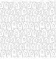 bear rows vector image vector image