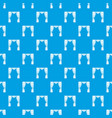 curtain on stage pattern seamless blue vector image vector image