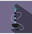 Hookah icon flat style vector image vector image