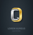 Letter Q Template for company logo 3d Design vector image vector image