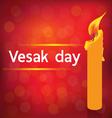 VESAK DAY vector image