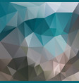 abstract irregular polygon square background blue vector image vector image