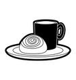 bakery products desgin vector image vector image
