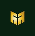 creative initial letter m logo design inspiration vector image vector image