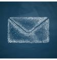 envelope icon vector image