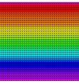 Rainbow colors seamless knitted background vector image vector image