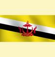 flag of brunei - vector image
