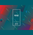 creative geometric wallpaper trendy gradient vector image