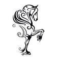 pegasus winged horse vector image vector image