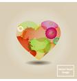 Splashheart vector image