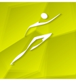Runner Icon vector image