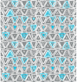 1196pattern with triangles vector image vector image