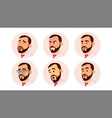 avatar man icon placeholder casual vector image vector image