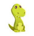 dinosaur baboy cute print sweet dino cool vector image vector image