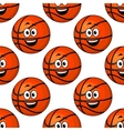 Happy round smiling orange emoticons vector image vector image