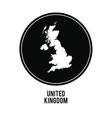 map icon United kingdom design graphic vector image