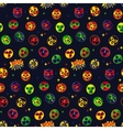 Mexican wrestling Seamless Pattern vector image vector image