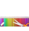 Modern school background with copyspace EPS10 vector image vector image