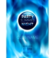 Night Club Colorful Flyer Template vector image vector image