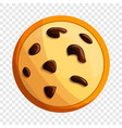 peanut cookies icon cartoon style vector image vector image