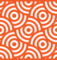 seamless pattern background ornament of striped vector image vector image