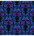 Suzani ethnic pattern with Kazakh motifs vector image
