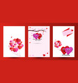 valentine couple valentines day or for wedding vector image