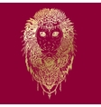 Graphic monkey abstract design vector image