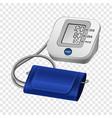 digital tonometer mockup realistic style vector image