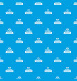global friendship pattern seamless blue vector image vector image