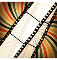 grunge retro cinema background vector image vector image