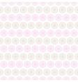 Light summer seamless pattern tiling Fond pink vector image vector image