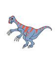 therizinosaurus dinosaur vector image vector image