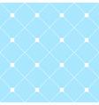 White Square Diamond Grid Light Blue Background vector image