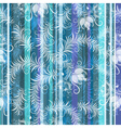 blue-grey-white floral seamless pattern vector image vector image