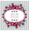 Bright pomegranate postcard banner or lable vector image vector image