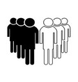 group of people - business teamwork concept vector image