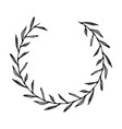 laurel wreath vector image vector image