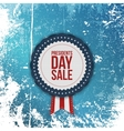 Presidents Day Sale realistic Banner with Ribbon vector image vector image